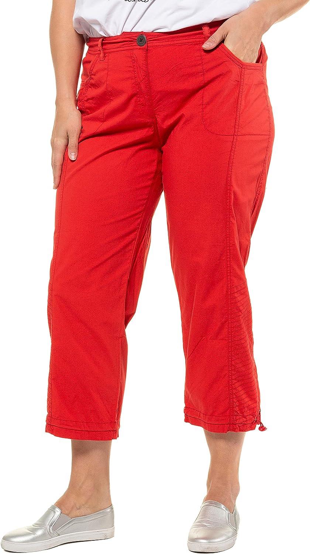 Ulla Popken 祝日 Womenswear Plus Size Curvy 4 3 Cargo Length Oversize 人気ブランド
