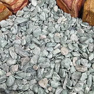 天然石 玉石砂利 1-2cm サンプル アイスグリーン (ガーデニングに最適 緑色砂利)