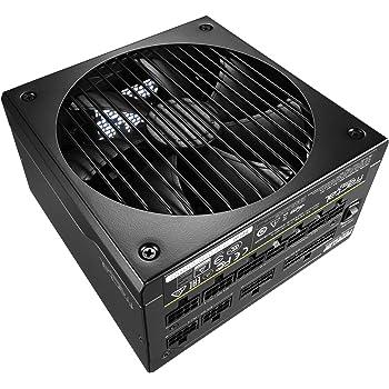 Fractal Design Ion+ Platinum 860W PSU - 80 PLUS Platinum - ATX - High performance Power Supply - Fully Modular - Zero RPM - Silent 140 mm fan FDB Bearings - UltraFlex Cables - 10 year warranty - Black