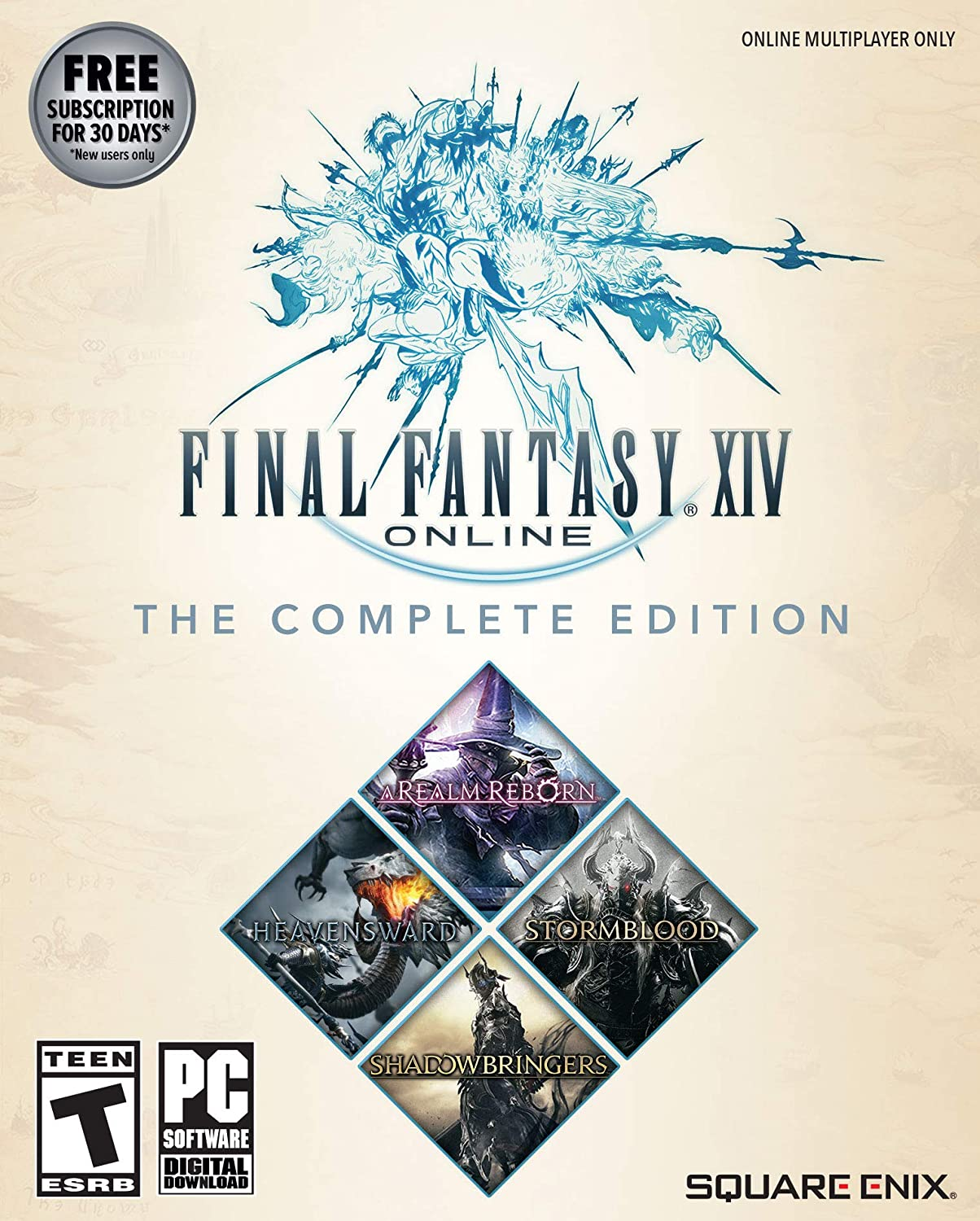 Final Cheap super special price Fantasy XIV Online Rare - Code Game Complete Edition