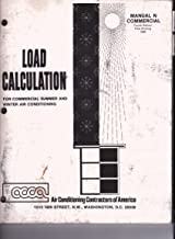 Load Calculation for Commercial Summer and Winter Air Conditioning, MANUAL