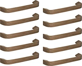 Gedotec Kastgreep, eiken, meubelgreep, houten booggreep, keuken - Epoch, gatafstand 160 mm, massief hout, houten handvat v...