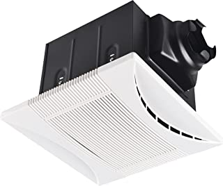 Tech Drive Super-Quiet 90 CFM, 0.8 Sone Bathroom Ventilation and Exhaust Fan (90CFM)