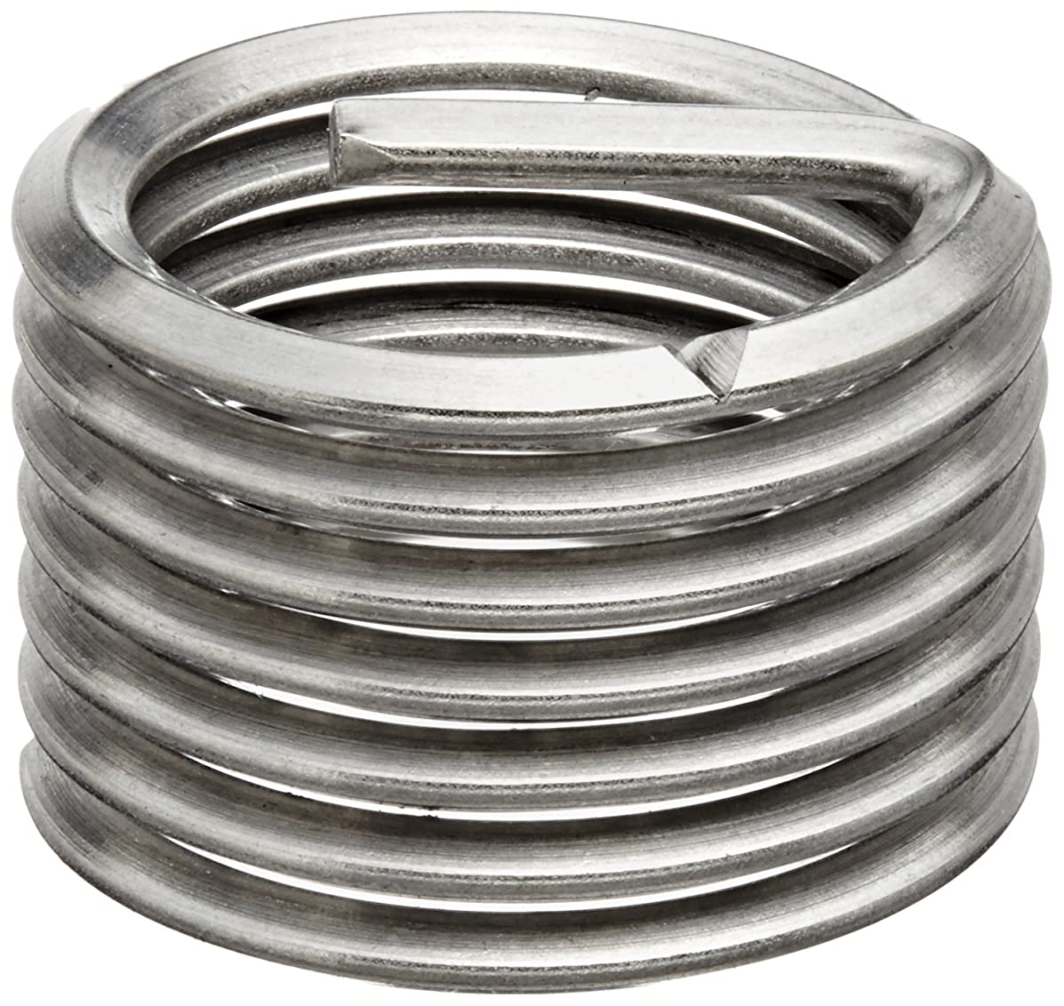 E-Z Lok Threaded Insert, 18-8 Stainless Steel, Helical, M3-0.5 Internal Threads, 4.5mm Length (Pack of 10)