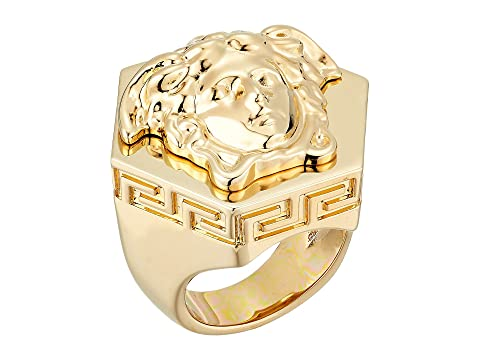 c23a72ff6 Versace Medusa Hex Ring at Luxury.Zappos.com
