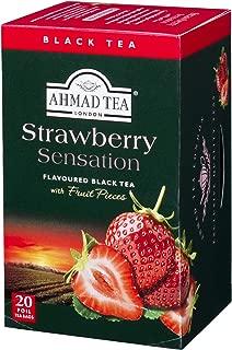 Ahmad Teas - Strawberry Black Tea 1.4oz - 20 Tea Bags