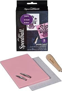 Speedball Speedy-Carve Rubber Stamp Making Kit – Great Starter for Beginners