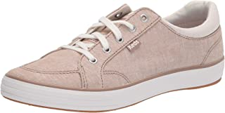 Keds Women's Center II Sneaker, Walnut Chambray, 6 Medium