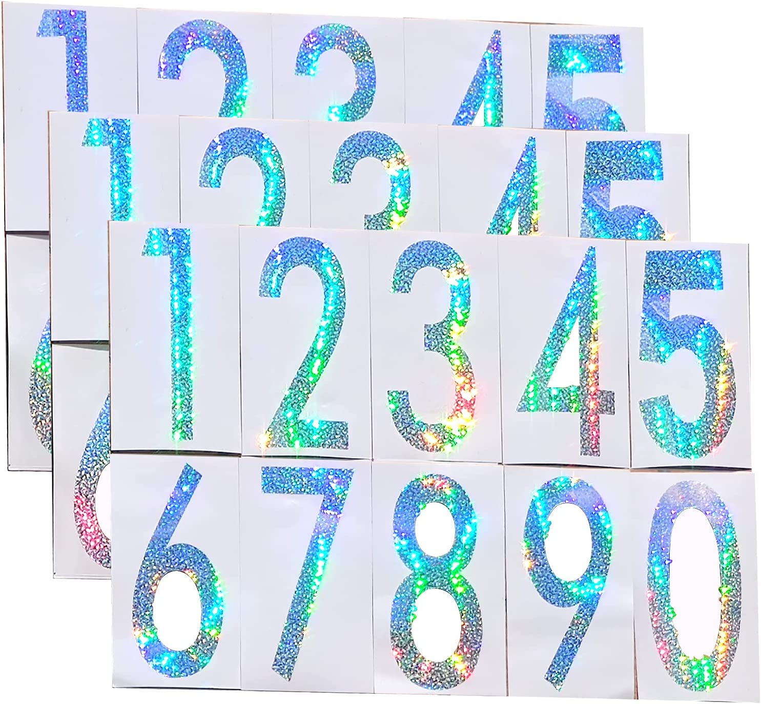 Reflective Mailbox Number Sticker Free shipping anywhere in the Ranking TOP6 nation 4 Inch Decal Si Cool Laser Cut