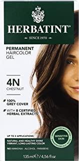 Herbatint Permanent Herbal Haircolor Gel, Chestnut, 4.56 Ounce