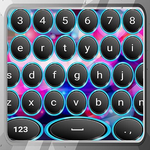 Neon Circles Tastaturen