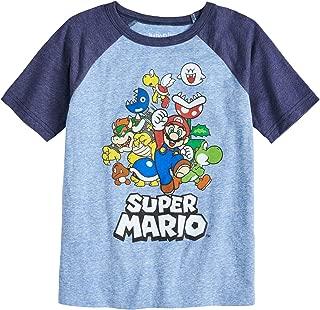 mario birthday shirt