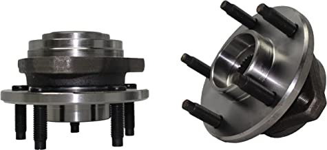 Detroit Axle - [NO ABS] (Both) Front Wheel Hub and Bearing Assembly for 2004-2007 Chevrolet Malibu - [2005-2007 Pontiac G6] 5 Lug NO ABS