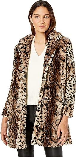 Bradshaw Leopard Faux Fur Coat