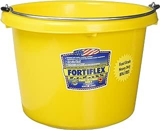 FORTEX INDUSTRIES 280127 Utility Pail Yellow, 8 Quart