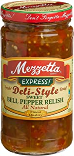 Mezzetta Sweet Bell Pepper Relish, 12 oz