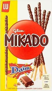 LU Mikado Milk And Daim Chocolate Coated Sticks, 70 gm
