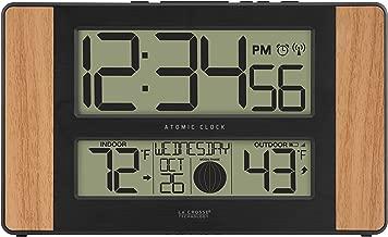 La Crosse Technology Atomic Digital Clock, Oak
