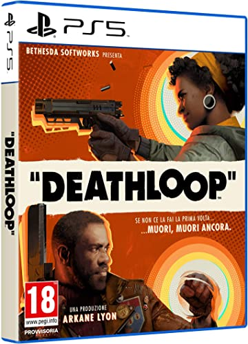 Bethesda deathloop - playstation 5 - - playstation 4