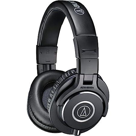 audio-technica プロフェッショナルモニターヘッドホン ATH-M40x ブラック スタジオレコーディング/楽器練習/在宅勤務/テレワーク