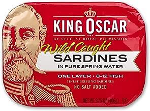king oscar sardines in water