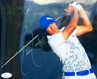 Autographed Rickie Fowler Photo - 2012 Players Championship 8x10 N35189 - JSA Certified - Autographed Golf Photos