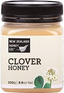 New Zealand Honey Co. Raw White Clover Honey, Creamed   8.8oz / 250g