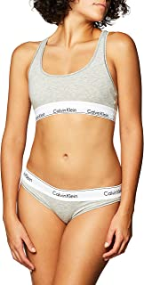 womens Modern Cotton Bralette and Bikini Set