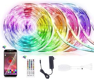65.6FT LED Strip Lights, Homiar Smart 5050 RGB Light Strips,