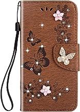 Herbests Beschermhoes compatibel met Huawei P20 Pro Flip Magnetic Beschermhoes Portefeuille PU Leer Flip Cover Slim Case G...
