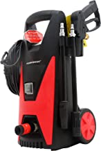 Power Smart PS22 Electric Pressure Washer, red, Black