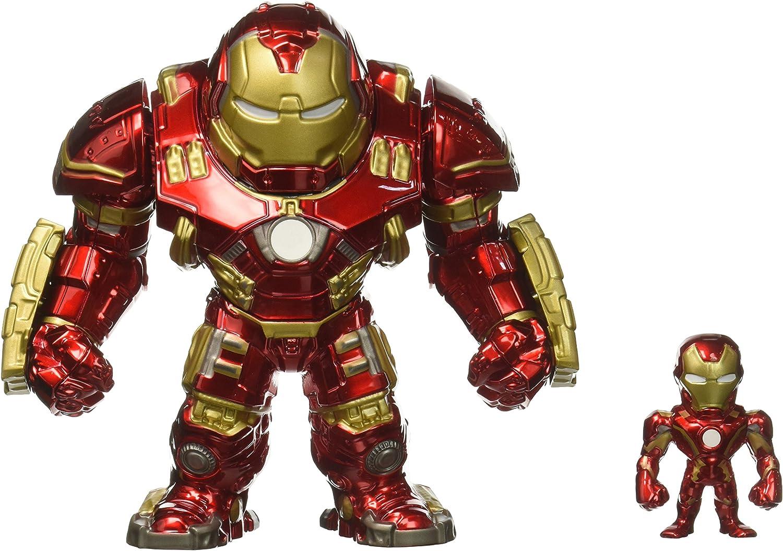 Jazwares - 97956 - Metals Diecast, Marvel, Avengers, Hulkbuster, Figur, 4 Zoll