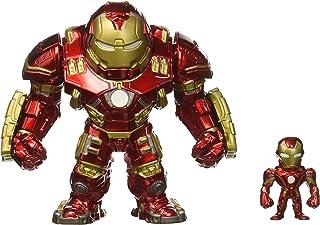 Jada-Metals Die Cast Figures Hulkbuster & Iron Man, Multicolor (97956)