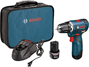 Bosch PS32-02 Cordless Drill Driver – 12V Brushless Compact Drill with 2 Lithium..