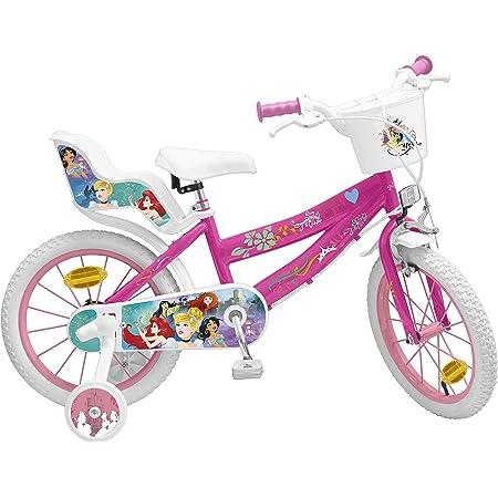 Pik&Roll Princesse - Bicicleta para niña (16 Pulgadas), Color Rosa