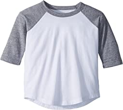 Chaser Kids - Vintage Jersey Baseball Tee (Toddler/Little Kids)