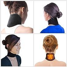 Supporto Cervicale Autoriscaldante- Collare Cervicale per Dolore Muscoli Articolazione Collo Fascia Collo Tormalina Collare Terapia Magnetico Protezione