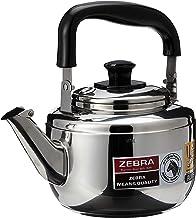 Zebra 113572 Stainless Steel Whistling Kettle, Century Plus, 3L