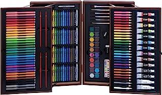 Art 101 Deluxe Artist Set in Wood Case (215 Piece)