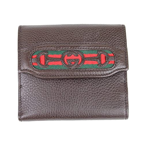 2d57d13a248 Gucci Women s Brown Interlocking G French Leather Wallet 295352 2061