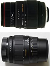 Sigma 70-300mm f4.0-5.6DL and Sigma 28-80mm f3.5-5.6II TELE & STANDARD ZOOM SET For Canon