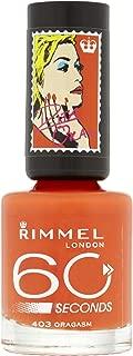 Rimmel London 60 Seconds Nail Polish By Rita Ora, Oragasm