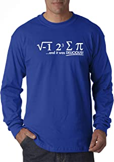 New Way 905 - Unisex Long-Sleeve T-Shirt I Ate Some Pie Delicious i Eight Sum Pi Math