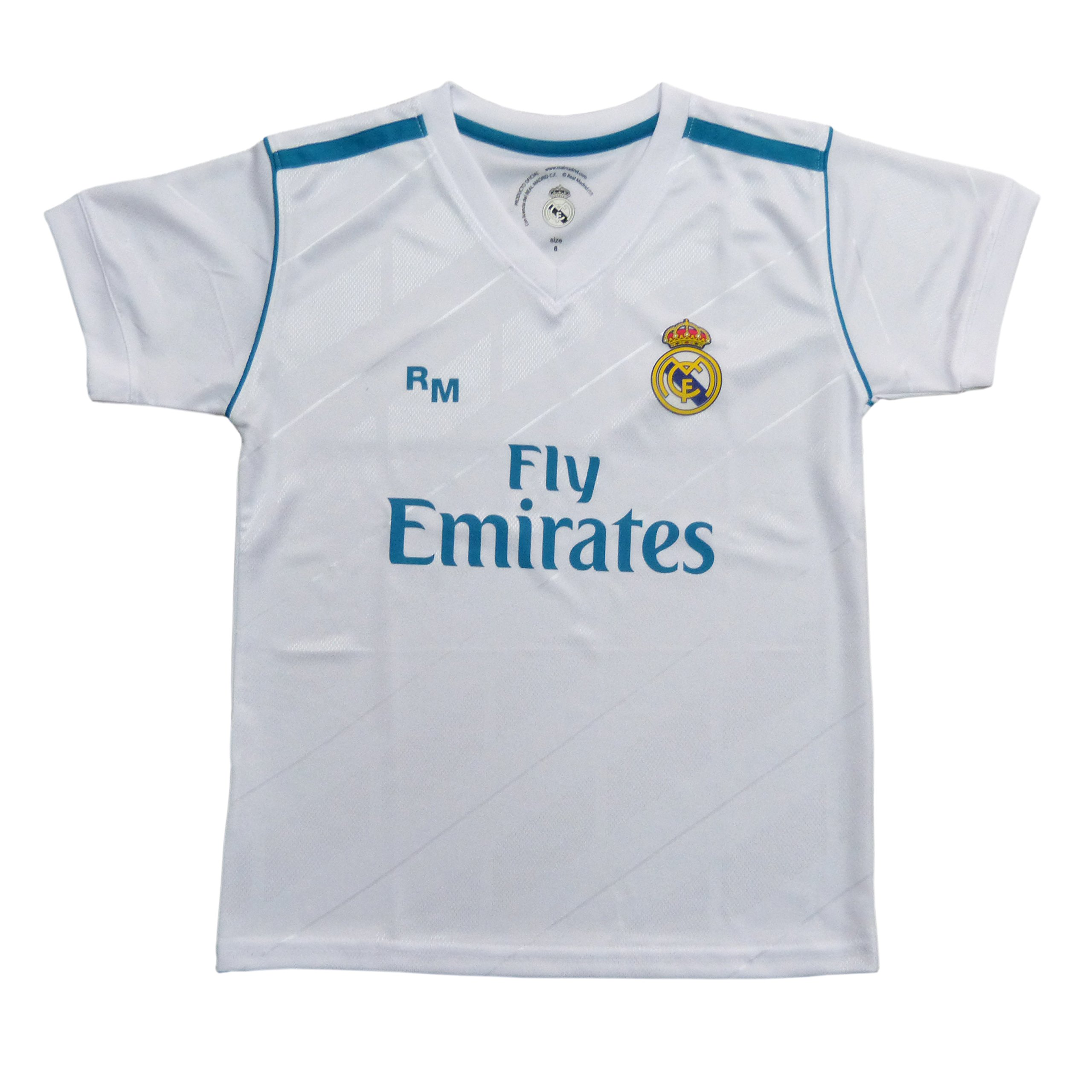Camiseta 1ª Equipación Replica Oficial REAL MADRID 2017-2018 ...