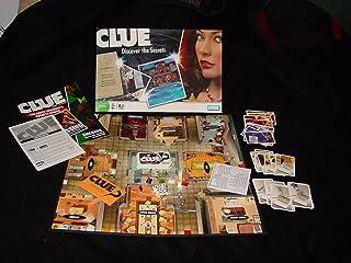 Hasbro CLUE BOARD GAME [DISCOVER THE SECRETS]