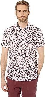 John Varvatos Star U.S.A. Men's Jasper Short Sleeve Sport Shirt W508V1B