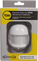 Yale B-HSA6020 Alarm Accessory Wire free PIR, Motion Activated, Accessory for HSA Alarms Including YES-ALARMKIT, White