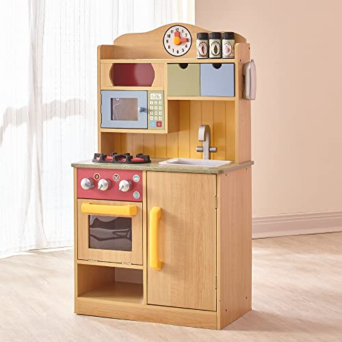 Small Wooden Play Kitchen: Amazon.com