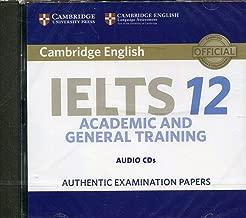 Cambridge IELTS 12 Audio CDs (2): Authentic Examination Papers (IELTS Practice Tests)