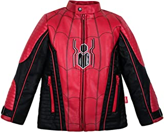 Marvel Spiderman Motocross Jacket for Boys Multi